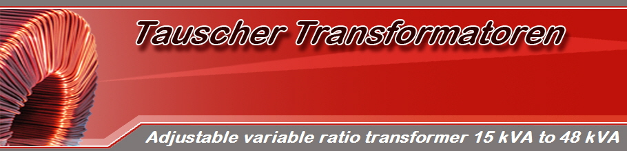 Adjustable variable ratio transformer 15 kVA to 48 kVA