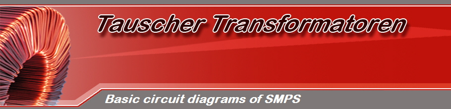 Basic circuit diagrams of SMPS