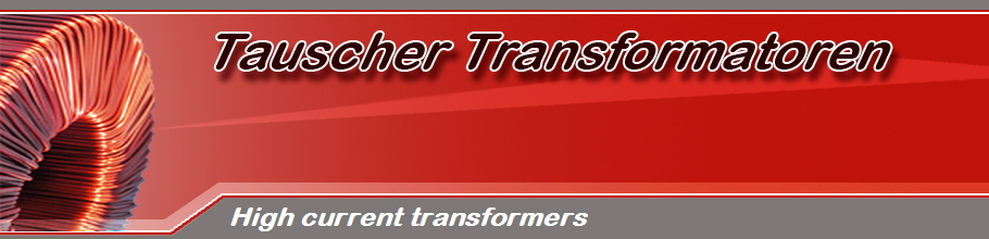 High current transformers