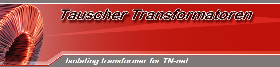 Isolating transformer for TN-net