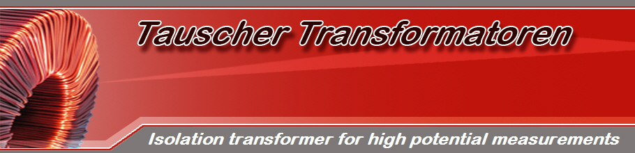 Isolation transformer for high potential measurements