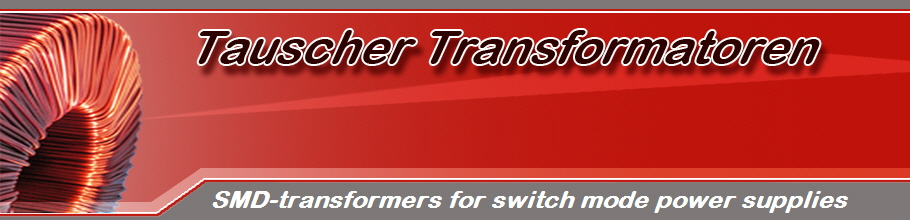 SMD-transformers for switch mode power supplies