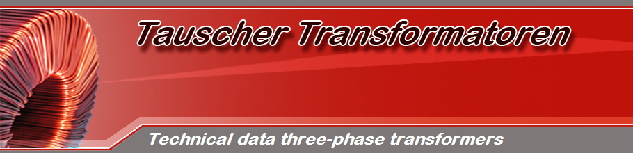 Technical data three-phase transformers