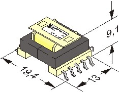 SMD switch mode power supply