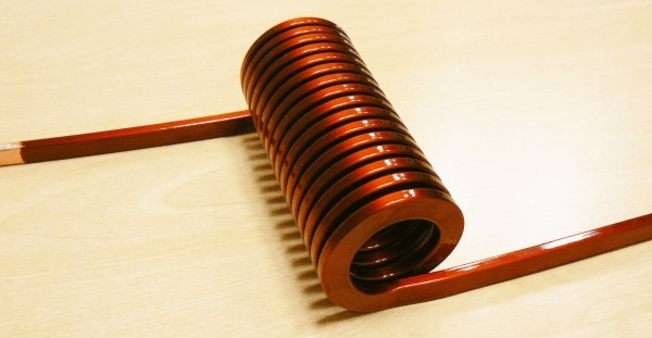 Upright winding