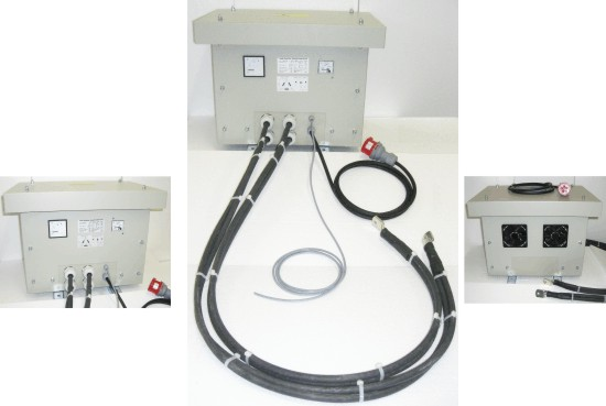 High current transformer without unbalanced load
