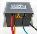 High voltage transformer for high frequency range