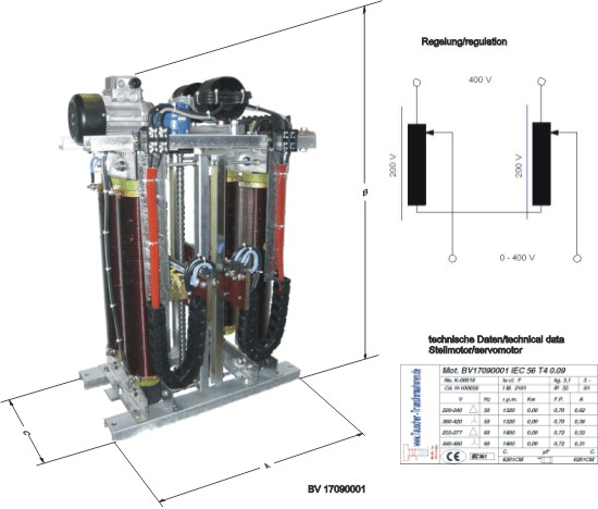 Variable ratio transformer