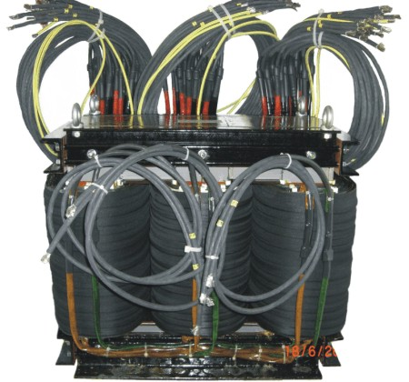 Three-phase transformer 120 kVA